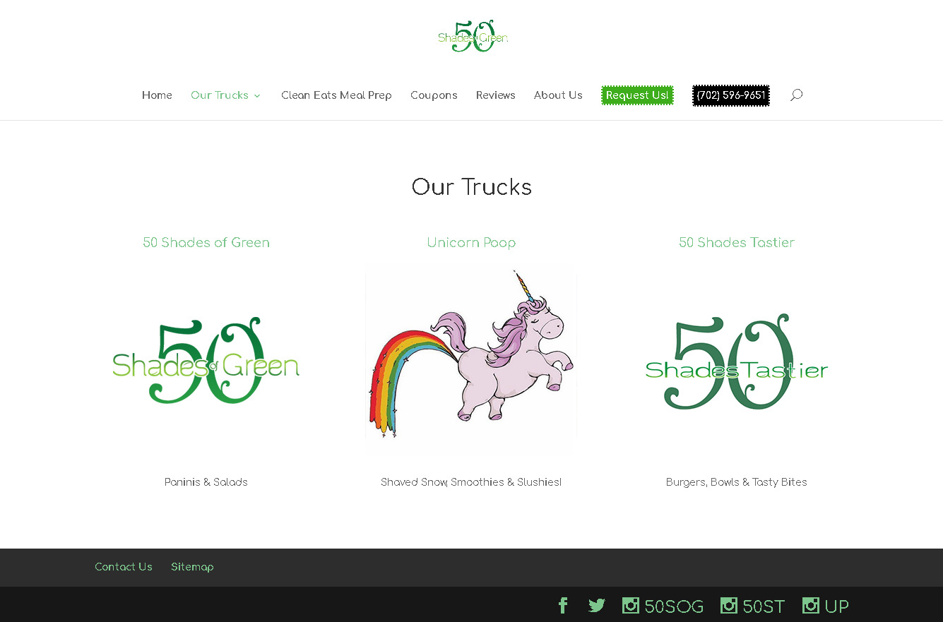 50ShadesOfGreen Website