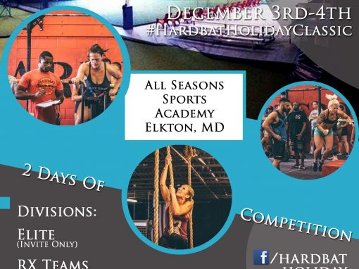 Hardbat Fitness Competition Flyer