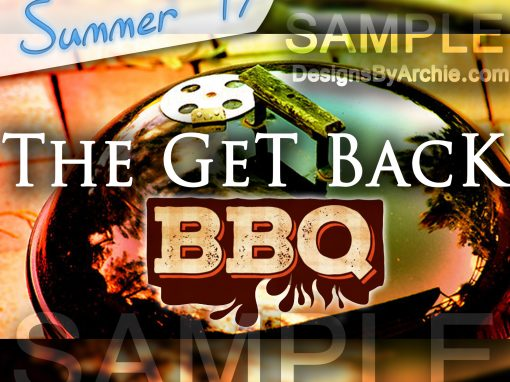 The Get Back BBQ Flyer